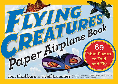 Flying CXreatures Paper Airpane Book