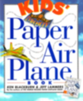 Kids' Paper Airplane Book