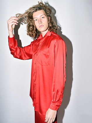 Emory, red shirt