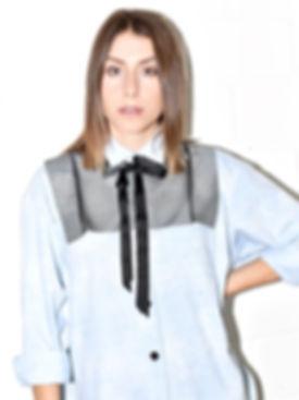oversized denim shirt outfit