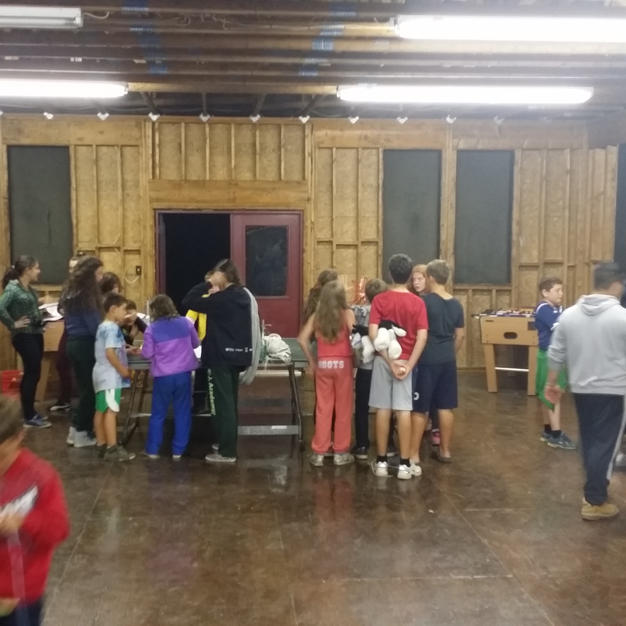 Camp event for 285 campers in Pennsylvania