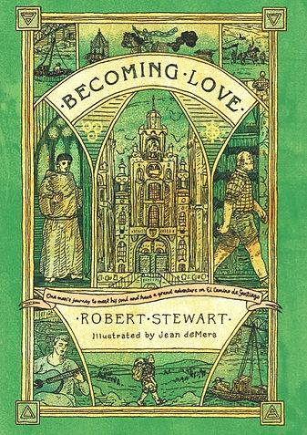 Becoming Love Book Cover, Robert Stewart Author