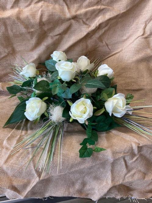 Montage fleur artificiel