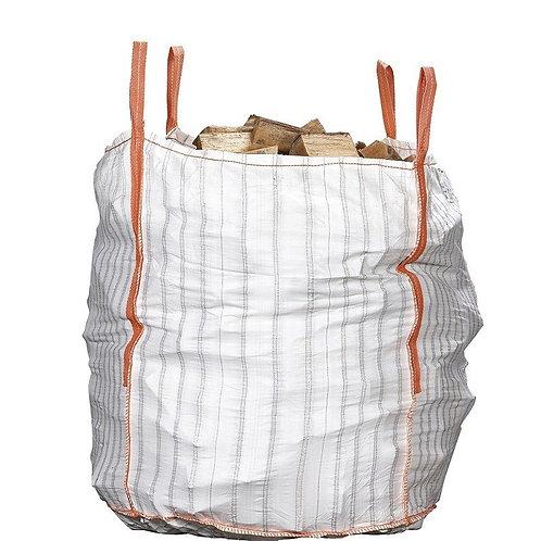 Big Bag de bois  +-40cm + caution big bag