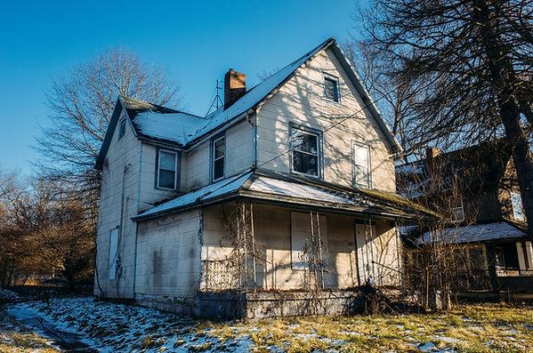 Abandonned House on the Main Street.