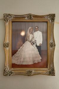 Lucinda and John's wedding