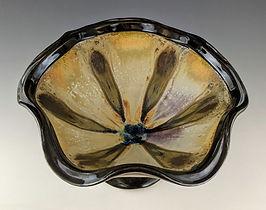 28 Pedestal Bowl with Thrown Rim, Top Vi