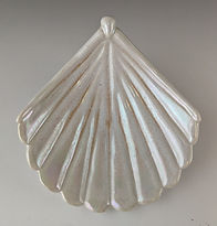11 Shell Low bowl, Opal with luster.jpg
