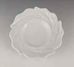 58 Twisted Leaf Rim White Low Bowl.jpg
