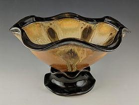 28 Pedestal Bowl with Thrown Rim, Side V