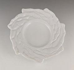 57 Twisted Leaf Rim White Low Bowl.jpg