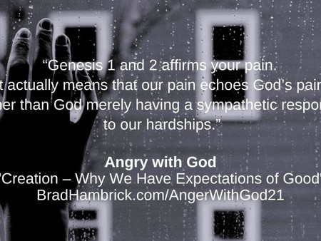 1. Angry with God: Trusting Hope Again