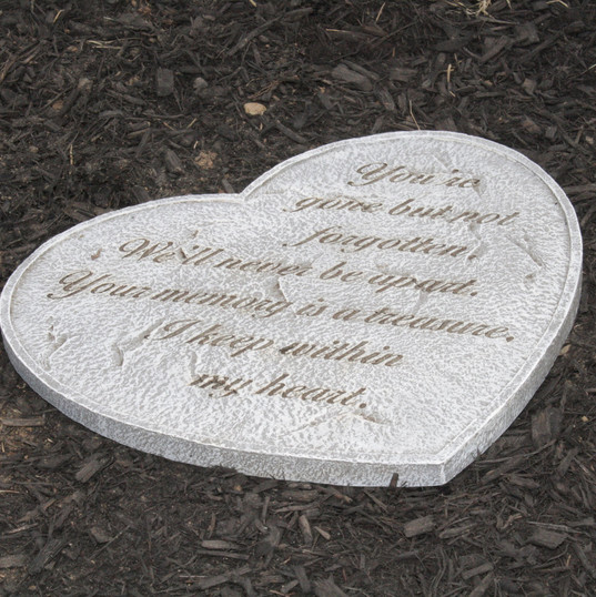 Stepping Stone at the Memorial