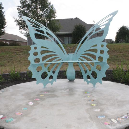 Zoe Butterfly Bench