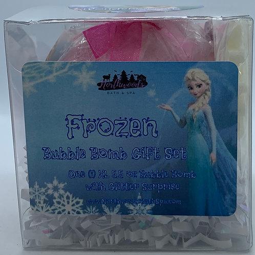 "Frozen ""Wondermelon"" 5.5 oz Bubble Bomb Gift Set"