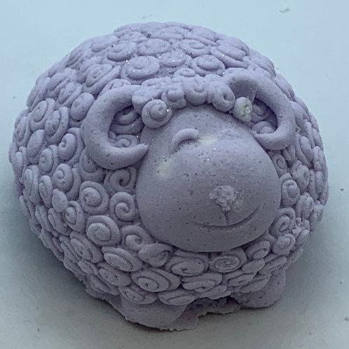 Lavender Mint 6 oz Sheep Bath Bomb Fizzie