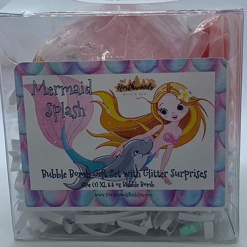"""Frozen """"Kisses"""" 5.5 oz Bubble Bomb Gift Set"""