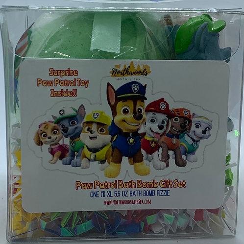"Paw Patrol ""Rocky"" XL 5.5 oz Bath Bomb Gift Set"
