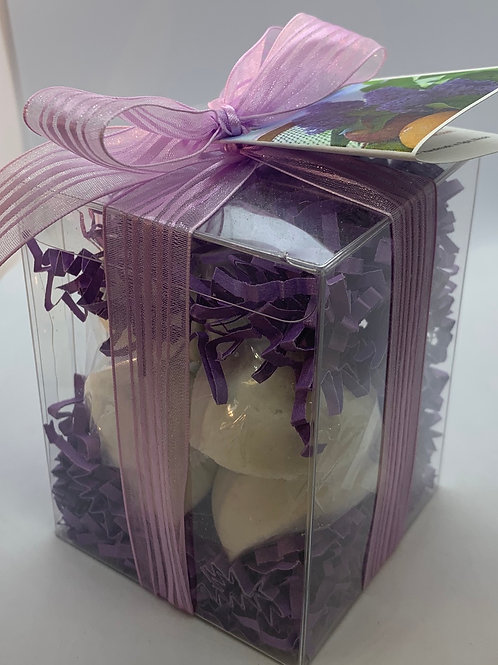 French Lilac 7-pack Bath Bomb Gift Set