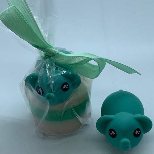 """Water Squirter """"Elephant"""" 1.3 oz Jelly Bean Soap"""