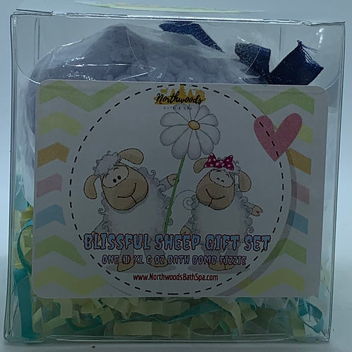 Calabrian, Bergamot & Violet 6 oz Sheep Bath Bomb Gift Set
