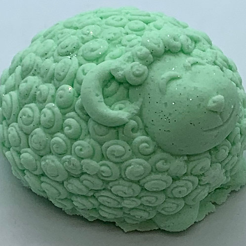 Cucumber Melon 6 oz Sheep Bath Bomb Fizzie