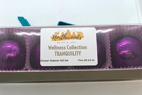 Sale! Tranquility 4-pack Shower Steamer Gift Set
