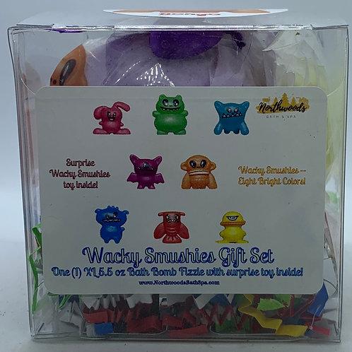Wacky Smushies (Bongo) 5.5 oz Bath Bomb Gift Set