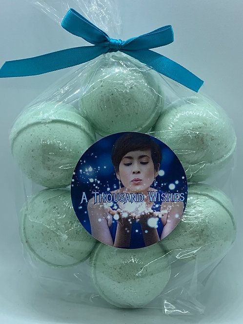 A Thousand Wishes 7-pack Bath Bomb Fizzies