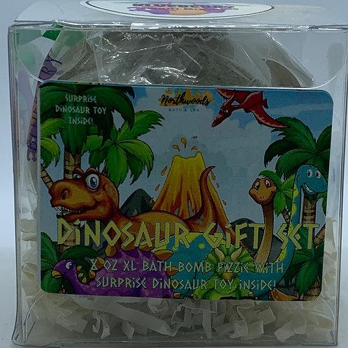 Colossal Dinosaur (Blueberry) XXL 8 oz Bath Bomb Gift Set