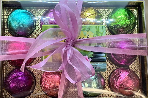 Bath Bomb Gift Set for Her 12-pack