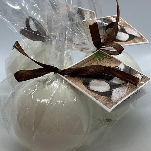 Coconut Vanilla - Three (3) XL 5.5 oz Bath Bomb Fizzies