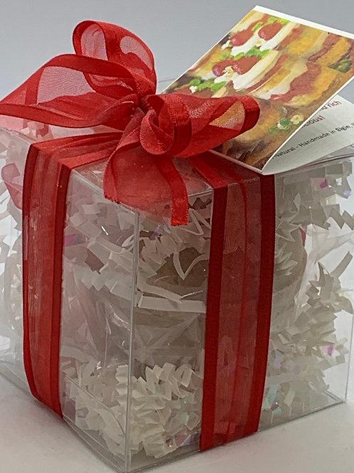 Strawberries & Cream 5.5 oz Bath Bomb Gift Set