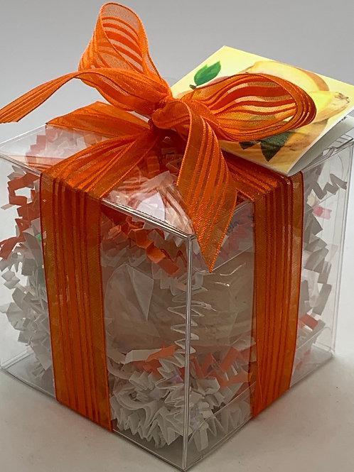 Ginger Peach 5.5 oz Bath Bomb Gift Set (b)