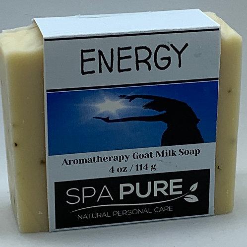 Energy Aromatherapy Goat Milk Soap