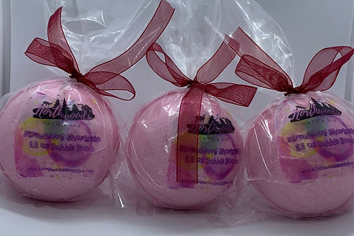 Strawberry Shortcake - Three (3) XL 5.5 oz Bubble Bombs