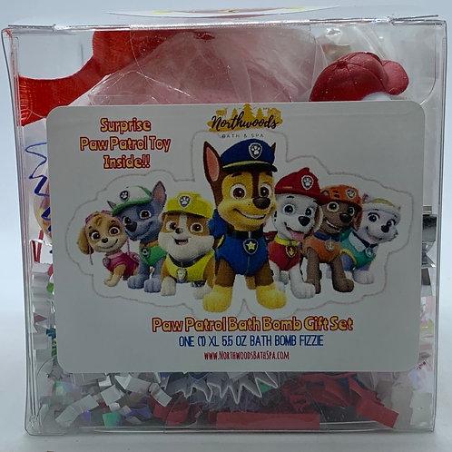"Paw Patrol ""Marshall"" XL 5.5 oz Bath Bomb Gift Set"
