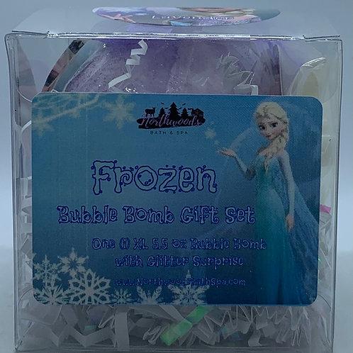 """Frozen """"Lavender"""" 5.5 oz Bubble Bomb Gift Set"""