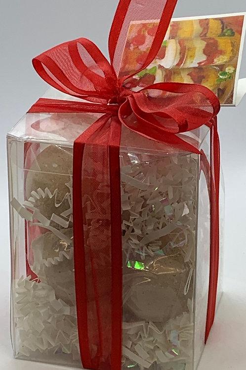 Strawberries & Cream 7-pack Bath Bomb Gift Set