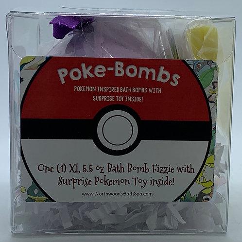 Poke-bomb (Squirtleberry) 5.5 oz Bath Bomb Gift Set