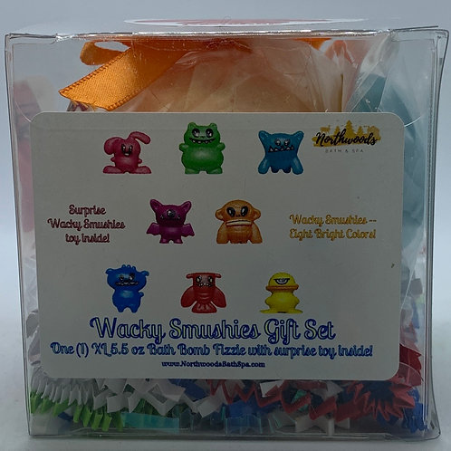 Wacky Smushies (Crusher) 5.5 oz Bath Bomb Gift Set