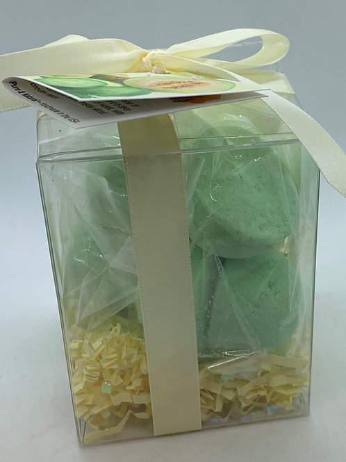 Cucumber Melon 7-pack Bath Bomb Gift Set (c)