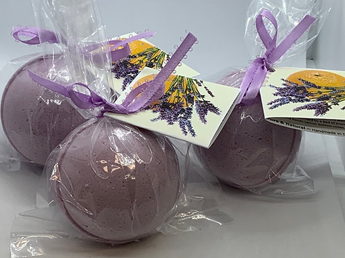 Clementine Lavender - Three (3) XL 5.5 oz Bath Bomb Fizzies