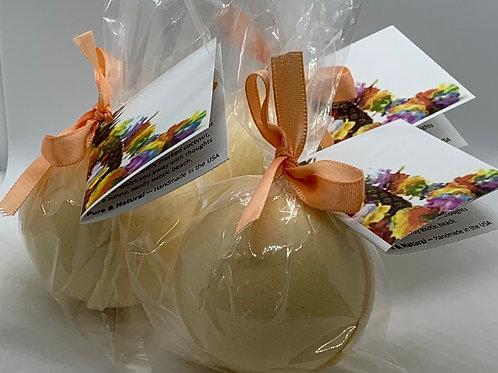 Caribbean Coconut - Three (3) XL 5.5 oz Bath Bomb Fizzies