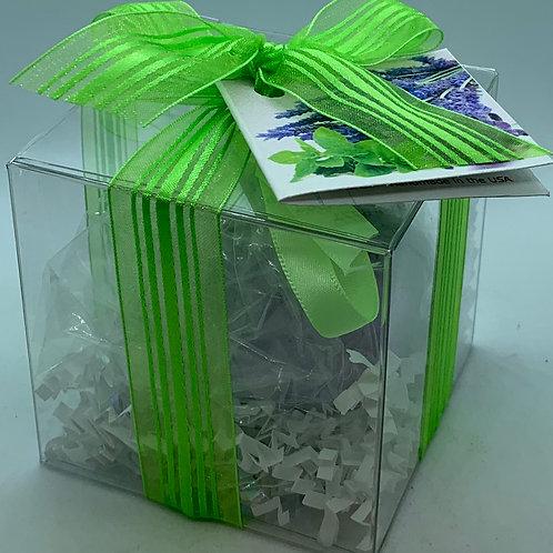 Lavender Mint 5.5 oz Bath Bomb Gift Set (b)