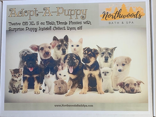 Large 5.5 oz Adopt-A-Puppy 12-pack Gift Set