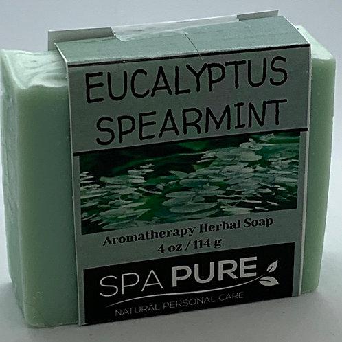 Eucalyptus Spearmint Aromatherapy Herbal Soap