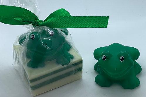 Frog Rubber Animal 2.5 oz Jungle Love Soap