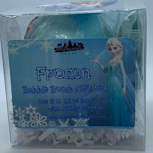 """Frozen """"Dreams"""" 5.5 oz Bubble Bomb Gift Set"""