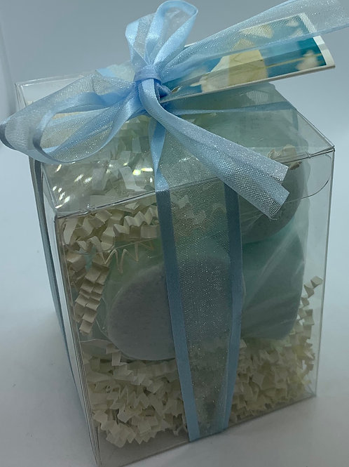 Cool Water 7-pack Bath Bomb Gift Set